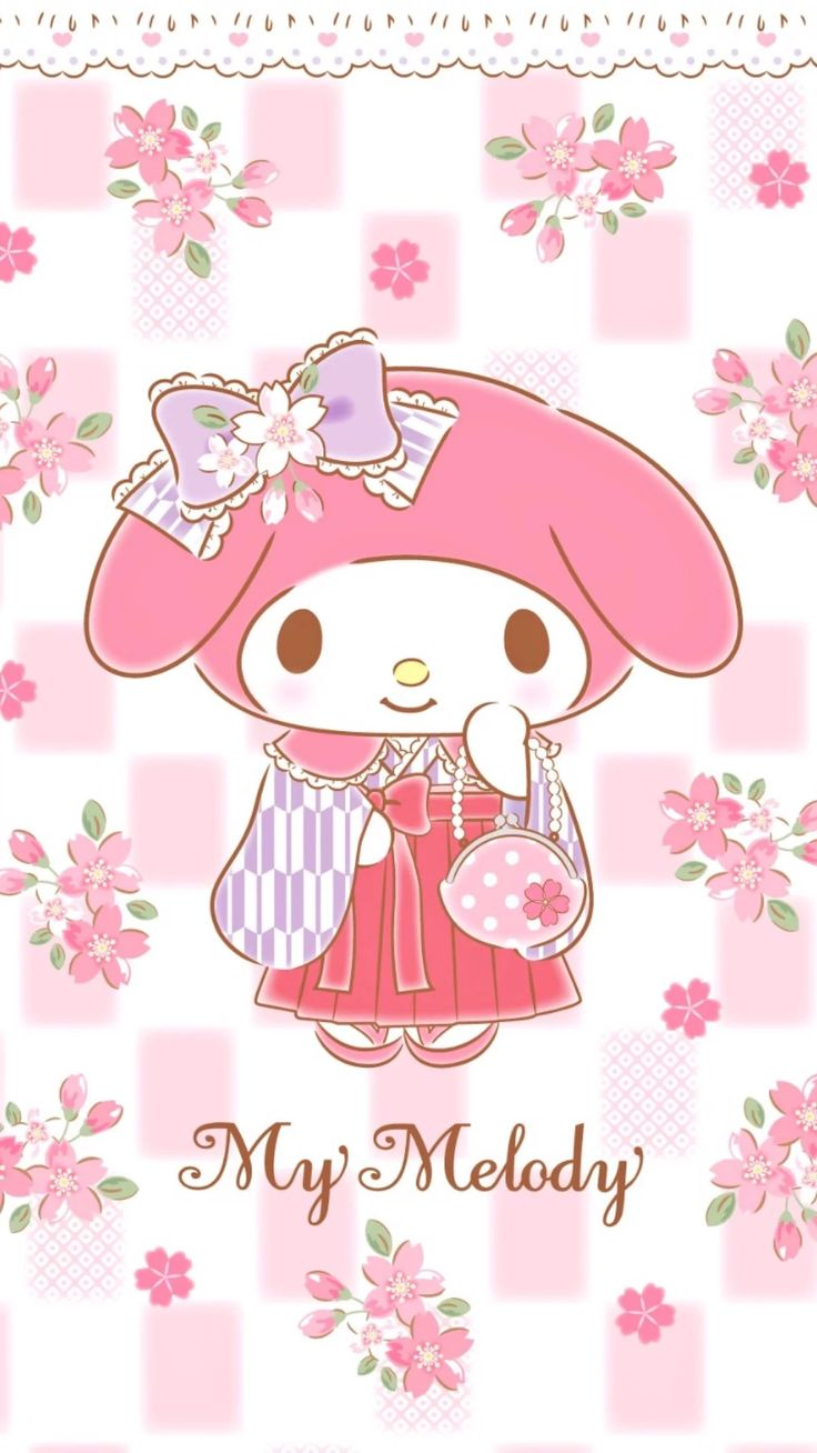 Best Wallpaper Hello Kitty Sakura - cd868cef524863d5bde618b05abba713--sanrio-wallpaper-my-melody  HD_419392.jpg