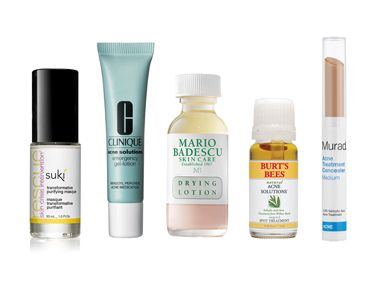 Products you need to get rid of a blemish in 24-hours.