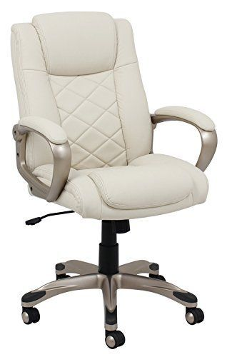 Barcalounger 9631S-MA Female Executive Chair, Ivory Barca