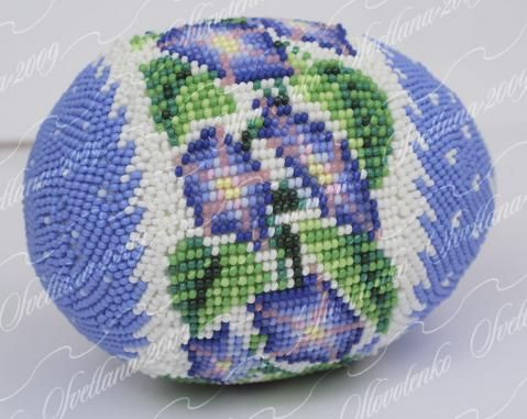 яйцо оплетенное Вьюнок