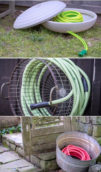 3 ways to store a garden hose from p allen smith http - Garden Hose Storage