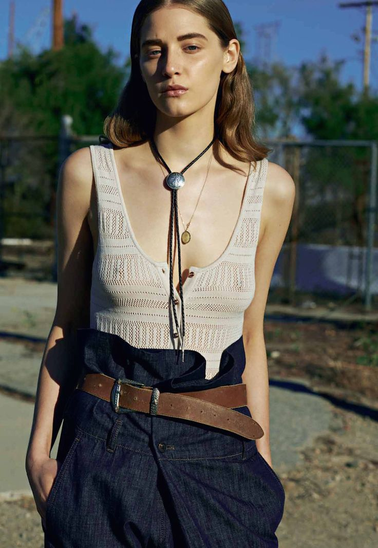 n o v s — leah-cultice:   Melina Gesto by Michael Hemy for...