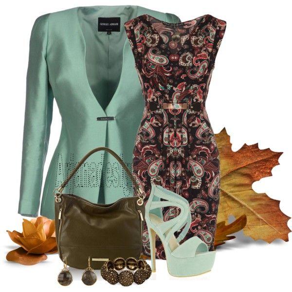 """MELA PAISLEY DRESS"" by arjanadesign on Polyvore"