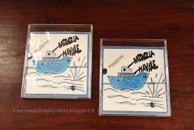 Il Sorriso dei miei Bambini: Battaglia navale (stampabile e da viaggio) in un porta CD - Battleship (printable)
