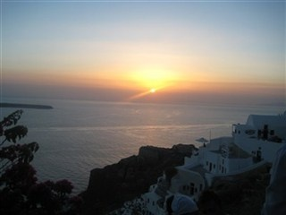 Worlds best Sunset in Santorini!