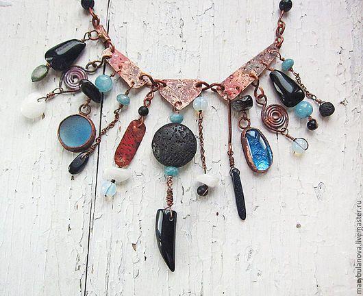 Медные украшения, украшения из меди, медное ожерелье, ожерелье из меди, колье из меди, медное колье, бохо украшения, этника, этническое ожерелье, этнические украшения, бохо, этническое украшение, бохо