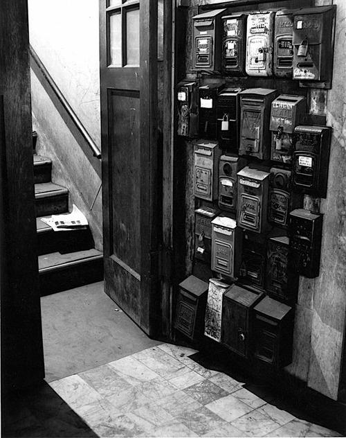 Washington Street below Stockton (Chinatown), San Francisco, 1947 by Benjamin Chinn