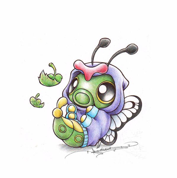 Caterpie Art By Itsbirdy Pinterest Humor Beautiful