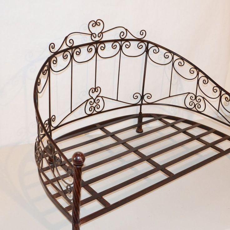 Large Metal Dog Bed