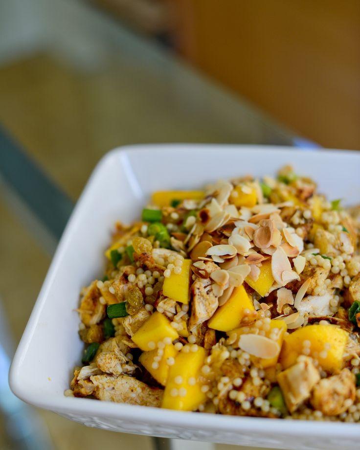 Bombėjaus vištienos salotos | Bombay chicken salad  #chiken #vistiena_kitaip