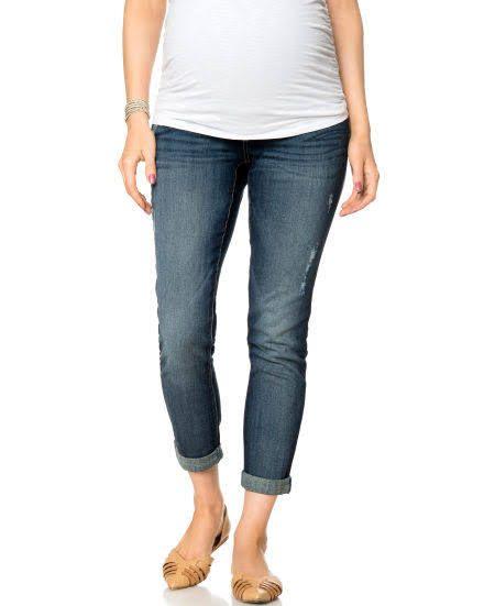 25  best ideas about Maternity boyfriend jeans on Pinterest   Fall ...