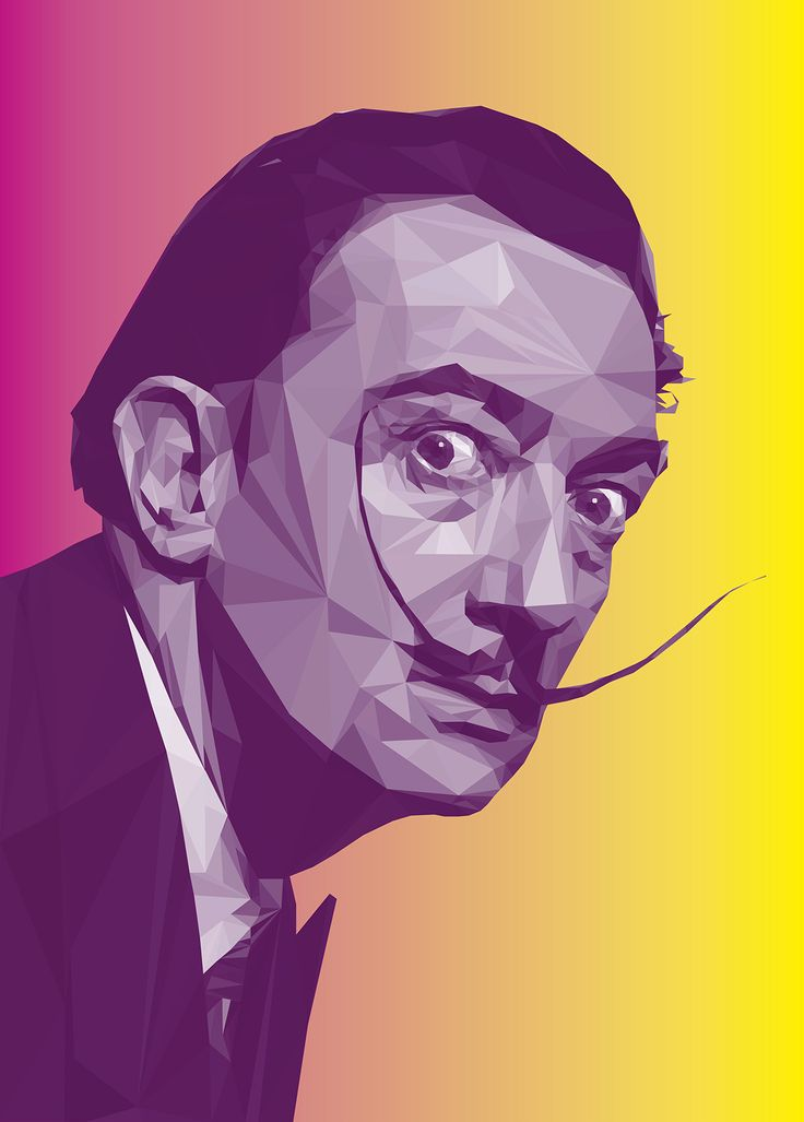 The Work in Progress of Digital Portraits New York based graphic designer Giselle Manzano Ramirez revealed her work in progress of famous icons such as Salvador Dali and Charlie Chaplin among other....
