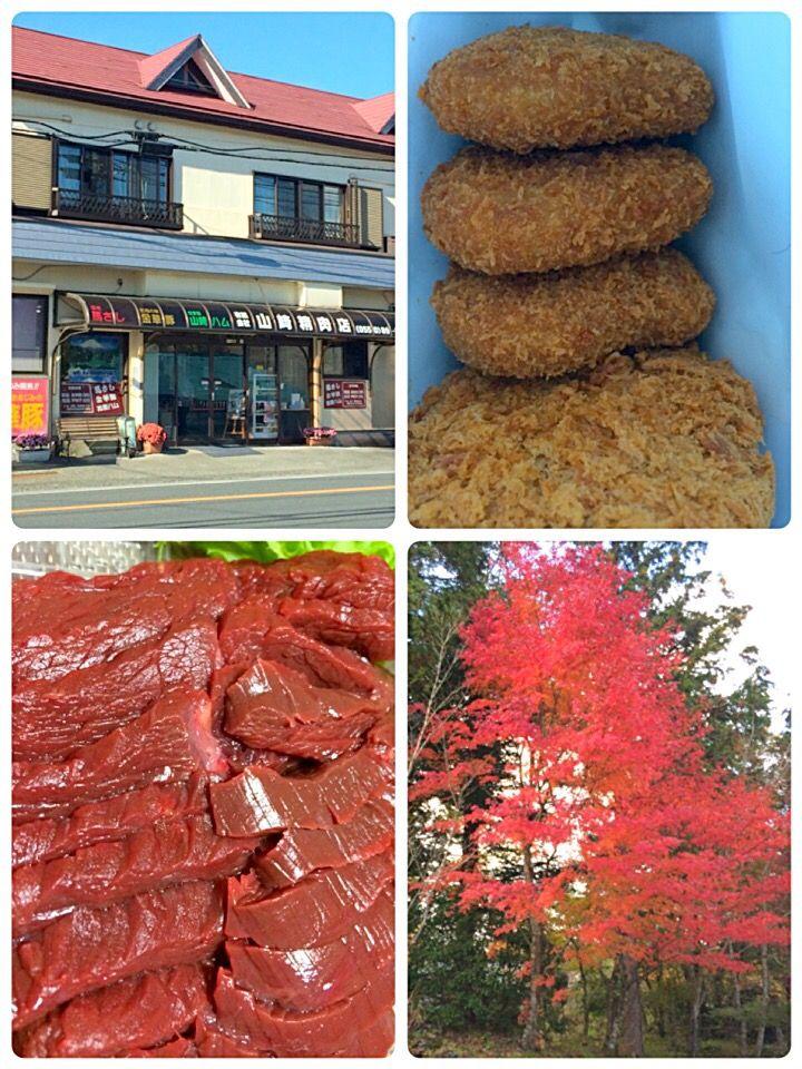 馬刺しで有名な山崎精肉店へ行きました。質の良 馬刺しに芸能人多数来店の店