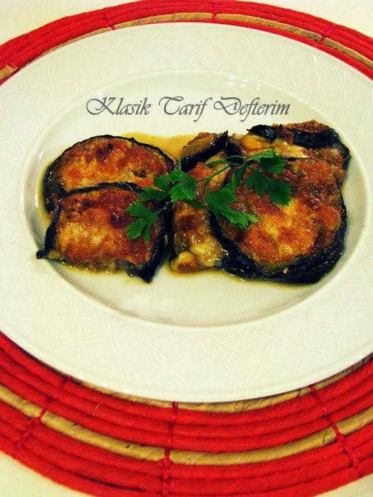 Lucia's #Eggplant Parmesan --- Lucia'dan #Fırında #Patlıcan Yemeği --- #Parmigiana di #Melanzane a modo di Lucia