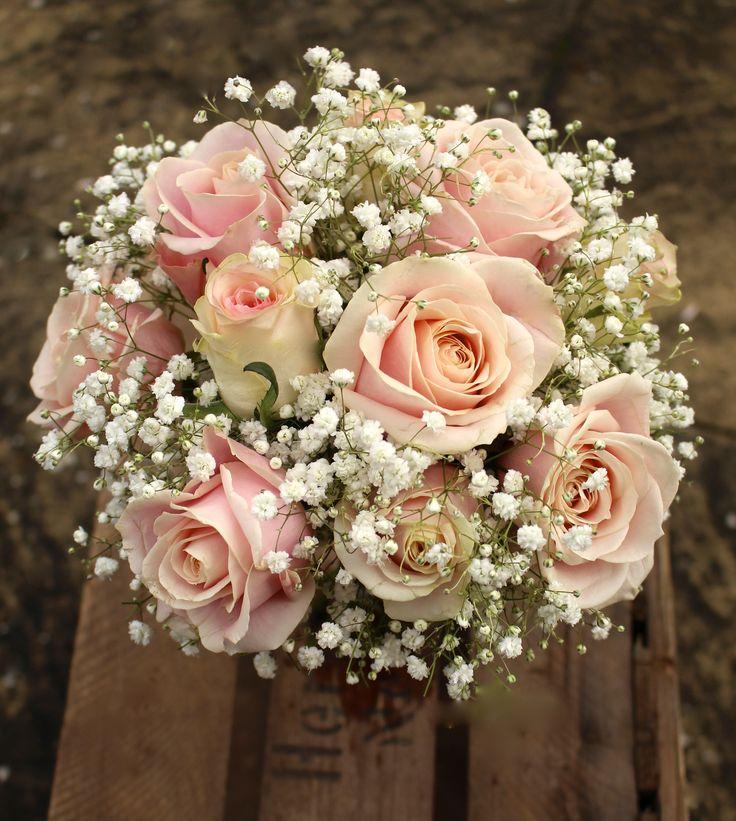 Pale Pink Wedding Flower Bouquets: 12 Best Vivid, Bright, Pale And Pastel Pink Bridal