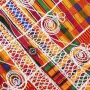 """The word """"dashiki"""" has roots in Nigerian Yoruba and Hausa culture and is generally translated as """"man's shirt."""" This loose, hot-weather-friendly garment is easy to sew and can express African culture, African solidarity, or respect for folk crafts throughout the world. Adapted to a variety of fabrics, dashikis take on the..."""