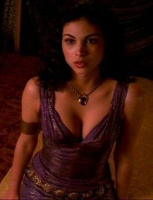Firefly: Inara's purple dress