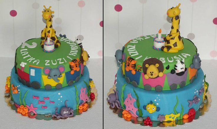 Tort ZOO/ ZOO cake