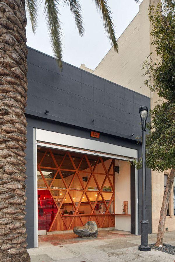 A Ramen Bar That Mixes Modern Design with Japanese Street Culture