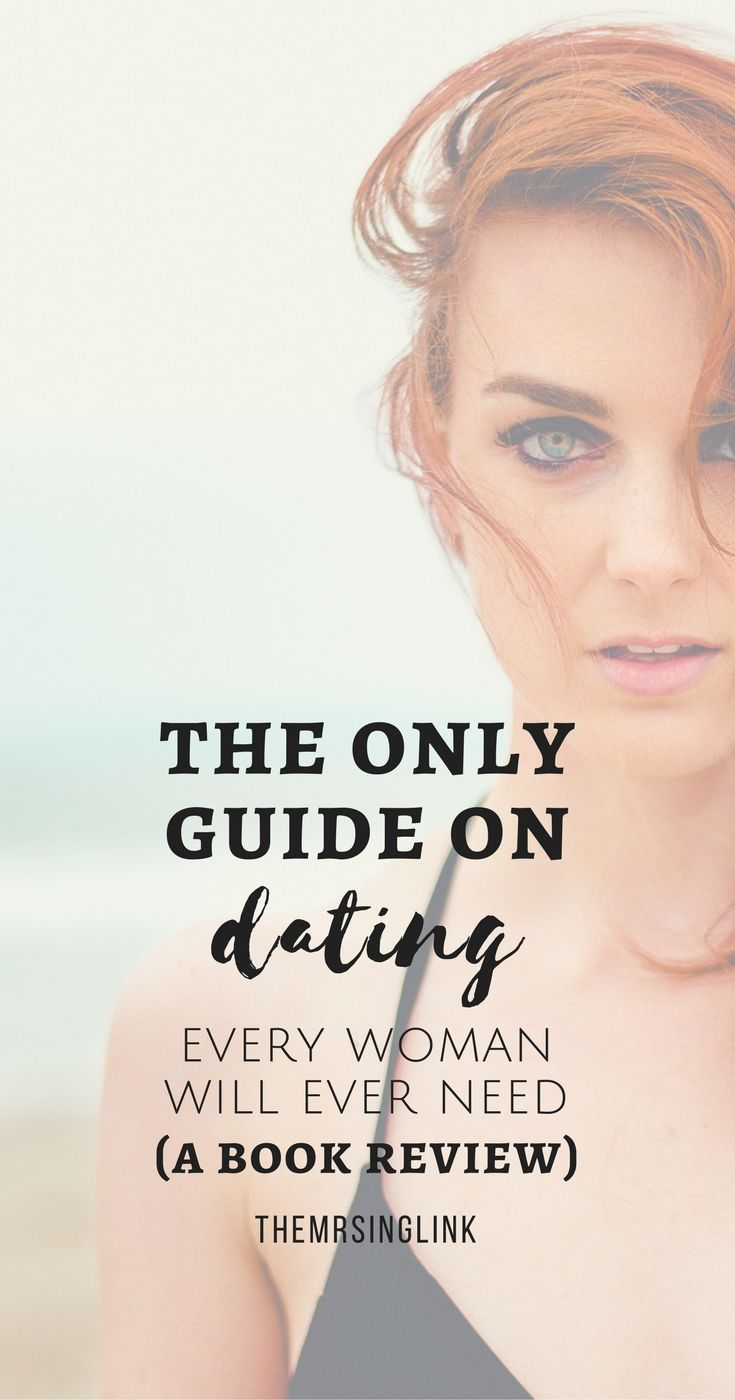 Dating advice for women books about men