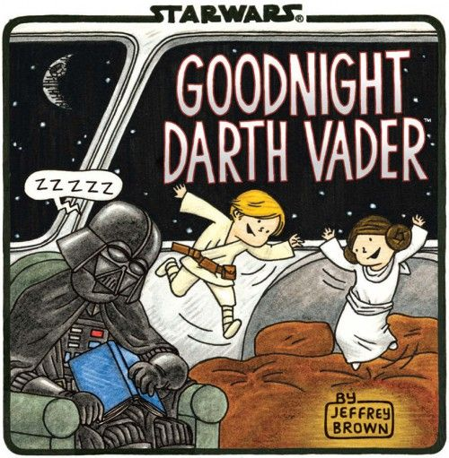 Jeffrey Brown's Darth Vader takes on bedtime!