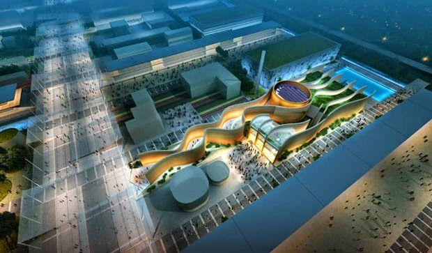 design-dautore.com Expo Milan 2015 ОАЭ павильон - Тема «Пища для размышлений - формирование и совместное будущее»