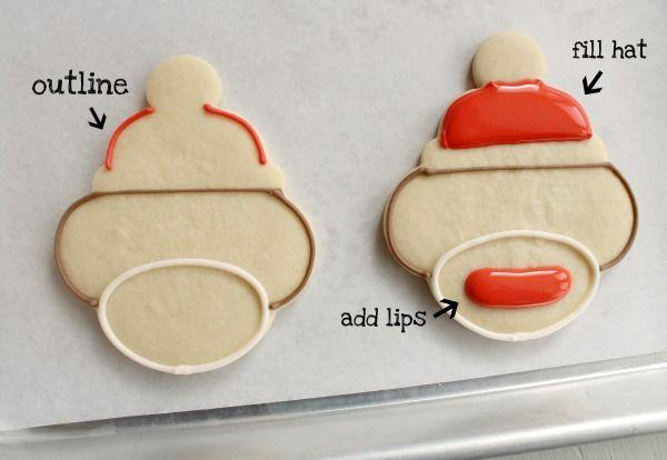great tutorials for decorating sugar cookies. Beautiful cookies here.