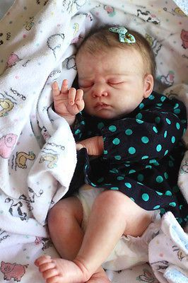 Reborn Baby OoPsy DaiSy lifelike baby Caspar by Christa Götzen