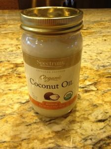 Spectrum Organic Coconut Oil - So many uses from cooking, to helping dry skin, to toothpaste..................