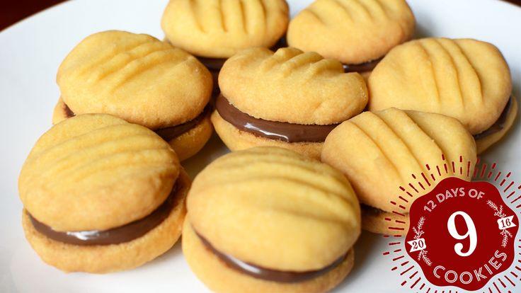 nookie postal hazelnut holiday cookies