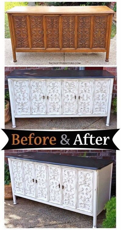 17 Best Images About Antiqued White Refinished Furniture