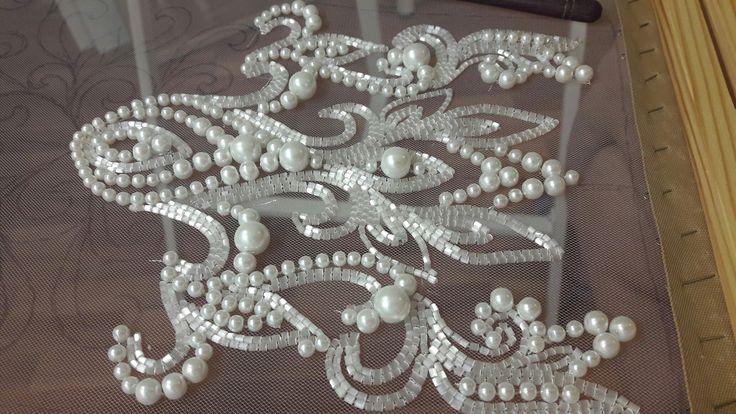 Вышивка люневильским крючком от Виктории Бойко, Школа кутюрной вышивки Salimastyle