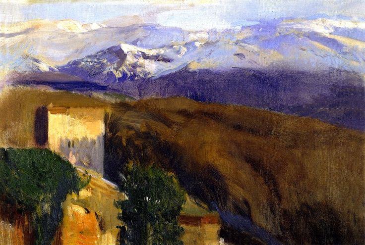 Sierra Nevada, Granada Joaquin Sorolla y Bastida - 1917
