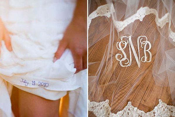 Aprovecha ese aplique que lucieron tu abuela y tu madre en su boda y continúa la tradición de llevar algo prestado. ¡Lo vintage está de moda! #detalles #boda