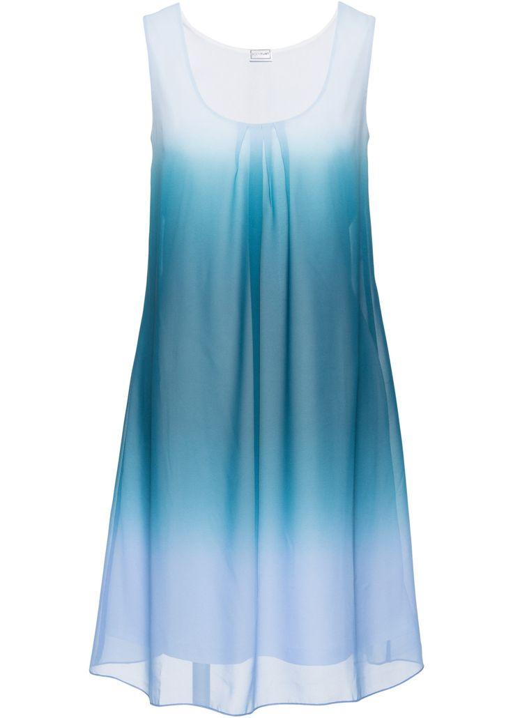 Jurk batik middenblauw/blauwpetrol - BODYFLIRT nu in de onlineshop van bonprix.nl vanaf ? 26.99 bestellen. Feminiene jurk van BODYFLIRT. Het losjes vallende ...