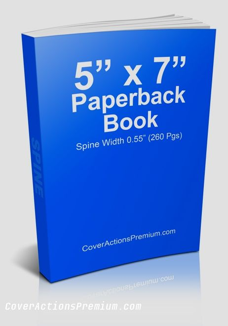 Paperback Book Cover Actions