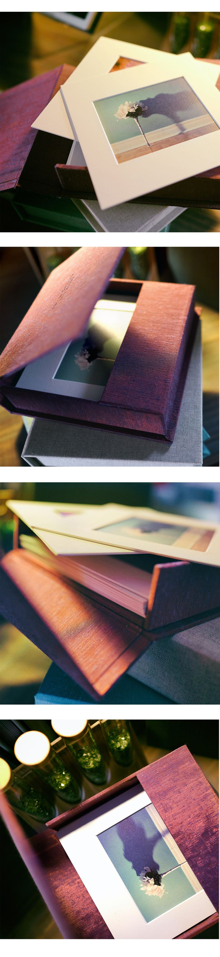 Who would't want one of these beautiful Matted Photo Boxes. <3