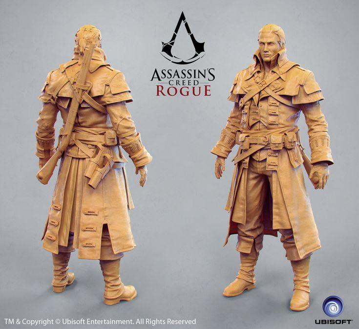 Shay Templar - AC Rogue, Borislav Kechashki on ArtStation at http://www.artstation.com/artwork/shay-templar-ac-rogue