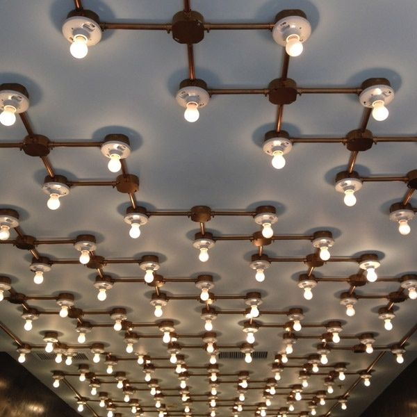 Industrial ceiling lighting • Anthology by jenniedrs