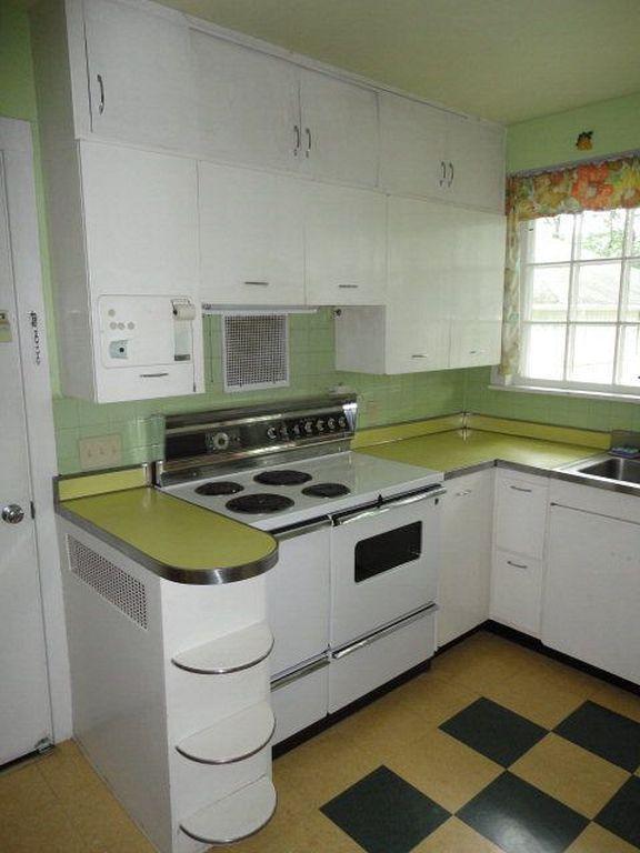 28 Chic Small Retro Kitchen Interior Design Ideas Retrohomedecor