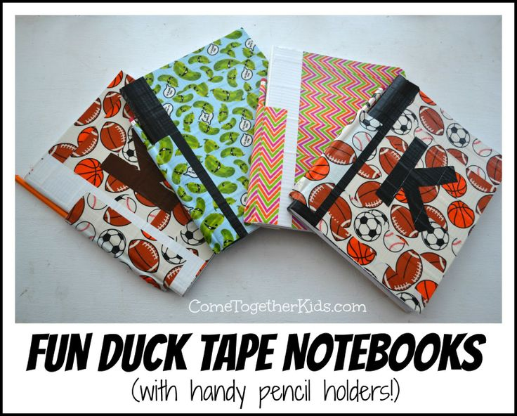 92 best back to school crafts images on pinterest back for Duck tape craft book