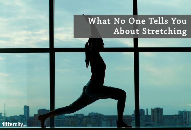 The Must knows about Stretching.