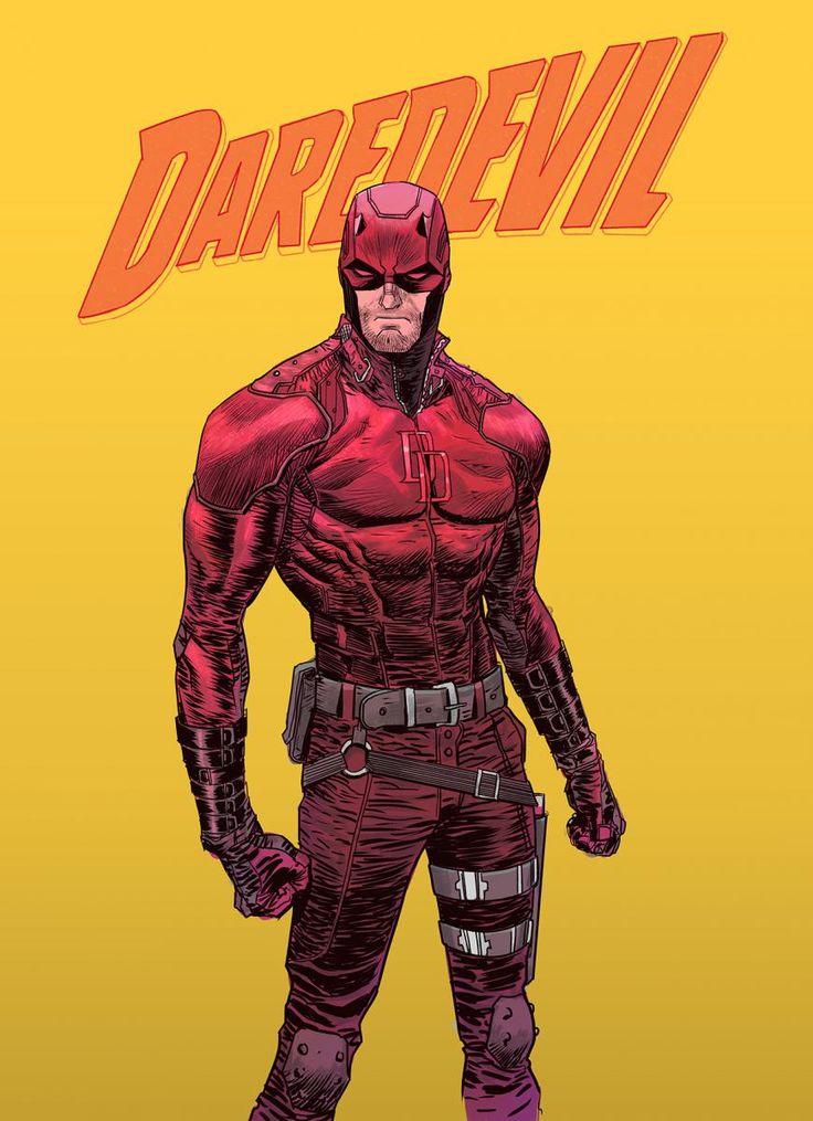 Daredevil (Netflix) : Ryan Meinerding revient sur le costume du héros | COMICSBLOG.fr