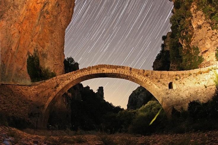 Kokoros bridge near Ioannina, Greece
