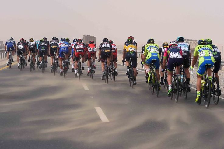 Waaiers in Tour of Qatar