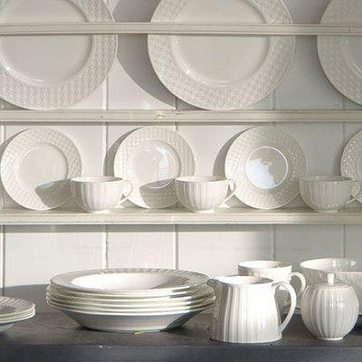 25 beste idee n over wit servies op pinterest witte platen bordensets en serviesset - Keukenmeubelen rustiek ...