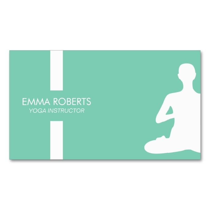 17 Best images about Yoga Business Cards on Pinterest