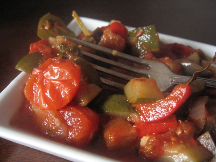 ratatouille in a rice cooker