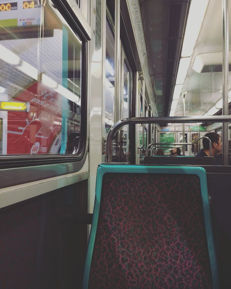 Metro. Paris. ©Charlotte Olsson.