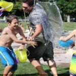 watergevecht & water games & afkoelen